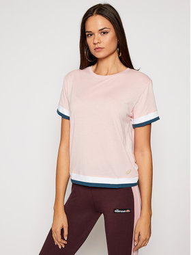Asics Asics T-Shirt W Tokyo SS 2032B092 Růžová Regular Fit