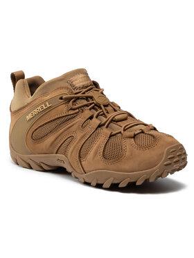 Merrell Merrell Παπούτσια πεζοπορίας Cham 8 Stretch Tactical J099407 Καφέ