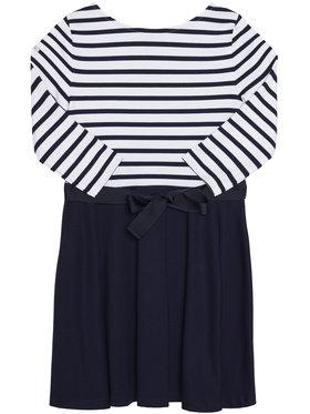 Polo Ralph Lauren Polo Ralph Lauren Sukienka codzienna Stripe Solid 312720091001 Granatowy Regular Fit