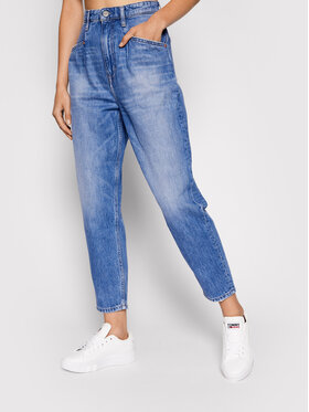 Tommy Jeans Tommy Jeans Traperice Dart DW0DW10268 Plava Mom Fit