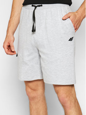 4F 4F Pantaloni scurți sport SKMD013 Gri Regular Fit