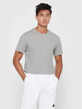 Only & Sons ONLY & SONS Tricou Matt Life 22002973 Gri Regular Fit