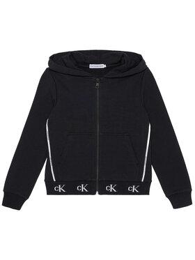 Calvin Klein Jeans Calvin Klein Jeans Bluza Monogram Stretch IG0IG00833 Czarny Regular Fit