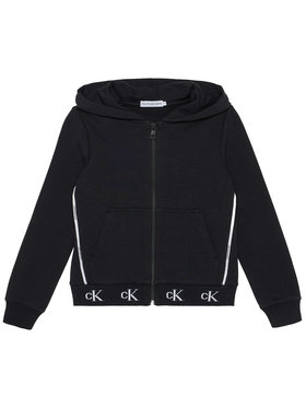 Calvin Klein Jeans Calvin Klein Jeans Pulóver Monogram Stretch IG0IG00833 Fekete Regular Fit