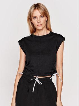 Calvin Klein Swimwear Calvin Klein Swimwear Тишърт KW0KW01354 Черен Regular Fit
