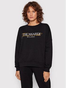 Trussardi Trussardi Sweatshirt 56F00167 Schwarz Relaxed Fit