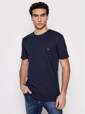 Quiksilver Quiksilver T-Shirt Witton Ss Tee EQYKT04118 Dunkelblau Regular Fit