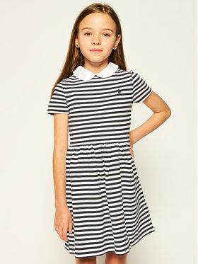Polo Ralph Lauren Polo Ralph Lauren Kasdieninė suknelė Stripe 313700868004 Tamsiai mėlyna Regular Fit