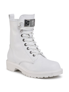 Guess Guess Ορειβατικά παπούτσια Talisi2 FL7TS2 LEA10 Λευκό