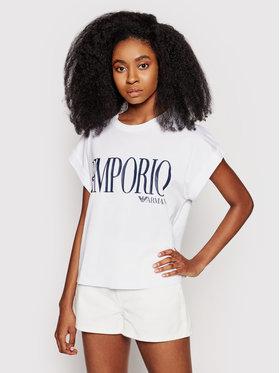 Emporio Armani Underwear Emporio Armani Underwear Tricou 262633 1P340 71710 Alb Regular Fit
