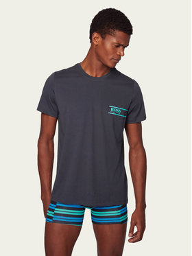 Boss Boss Σετ 2 T-Shirts Rn 24 50426319 Σκούρο μπλε Comfort Fit