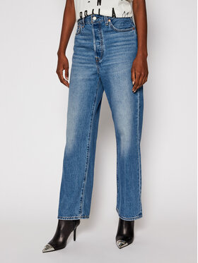 Levi's Levi's jeansy_straight_fit Ankle LEVIS-72693-0056 Tamsiai mėlyna Straight Fit