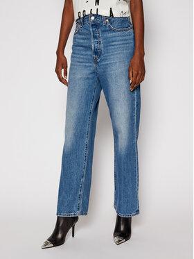 Levi's® Levi's® Дънки Straight Fit Ankle LEVIS-72693-0056 Тъмносин Straight Fit