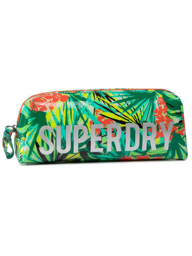 Superdry Superdry Penál Jelly Pencil Case W9810025A Zelená