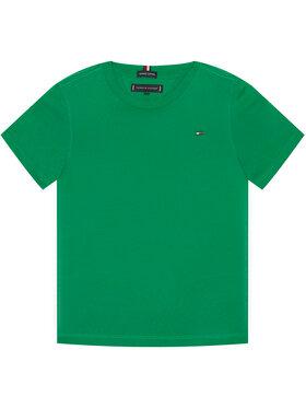 TOMMY HILFIGER TOMMY HILFIGER Marškinėliai Essential Cttn Tee KB0KB05838 D Žalia Regular Fit