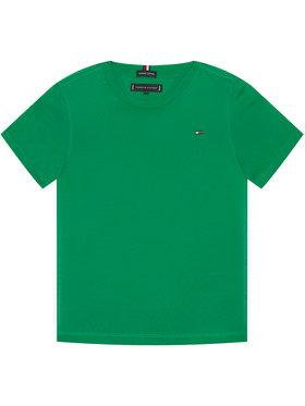 TOMMY HILFIGER TOMMY HILFIGER T-Shirt Essential Cttn Tee KB0KB05838 D Zelená Regular Fit