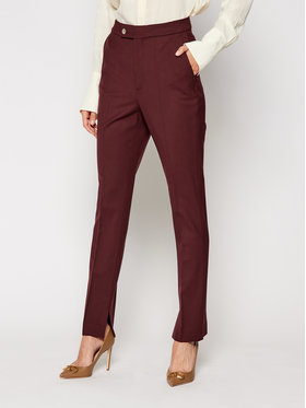 TOMMY HILFIGER TOMMY HILFIGER Pantaloni chino ICONS Ryder Wool WW0WW29412 Bordeaux Slim Fit
