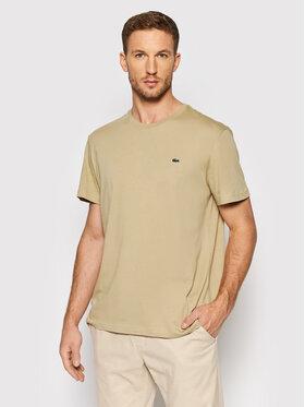 Lacoste Lacoste T-shirt TH2038 Beige Regular Fit