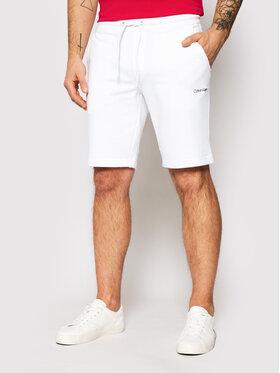 Calvin Klein Calvin Klein Αθλητικό σορτς Small Logo K10K107142 Λευκό Regular Fit