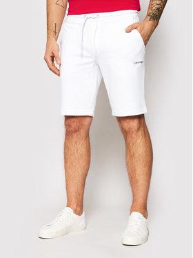 Calvin Klein Calvin Klein Sportske kratke hlače Small Logo K10K107142 Bijela Regular Fit