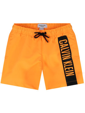 Calvin Klein Swimwear Calvin Klein Swimwear Плувни шорти Medium Drawstring B70B700225 Оранжев Regular Fit