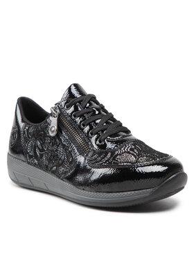 Rieker Rieker Sneakersy N1112-00 Čierna