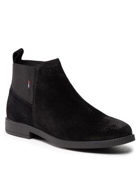 Tommy Jeans Tommy Jeans Botki Essentials Chelsea Boot EN0EN01520 Czarny