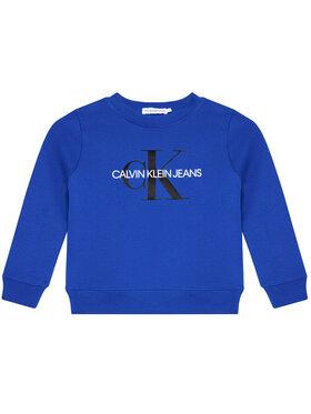 Calvin Klein Jeans Calvin Klein Jeans Džemperis Monogram Logo IU0IU00069 Tamsiai mėlyna Regular Fit