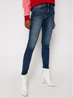 Tommy Jeans Tommy Jeans Super Skinny Fit džínsy Sylvia DW0DW09166 Modrá Super Skinny Fit