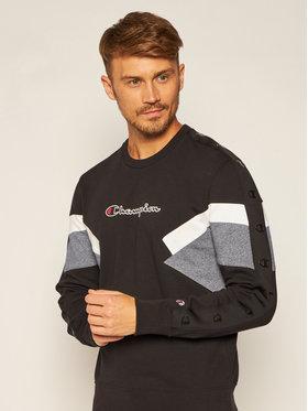 Champion Champion Bluză Sweatshirt 214786 Negru Comfort Fit
