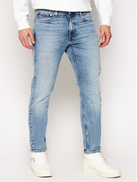 Calvin Klein Jeans Calvin Klein Jeans Jeansy Slim Fit J30J315998 Niebieski Taper Fit