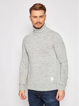 Trussardi Jeans Trussardi Jeans Bluză cu gât Turtle 52M00414 Gri Regular Fit