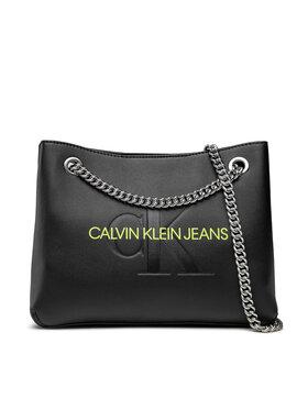 Calvin Klein Jeans Calvin Klein Jeans Дамска чанта Sculpted Conv Shoulder Bag Mono K60K608690 Черен