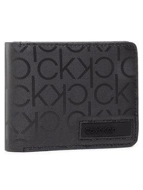Calvin Klein Calvin Klein Portafoglio grande da uomo Biflod 5Cc W/ Coin K50K506760 Nero