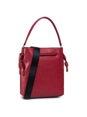DKNY DKNY Дамска чанта Jude Drawstring Buck R04JVF61 Червен