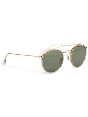 Ray-Ban Ray-Ban Lunettes de soleil Round Double Bridge Legend 0RB3647N 921031 Or