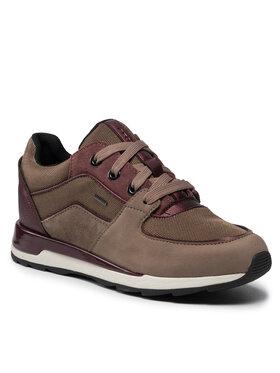 Geox Geox Sneakersy D New Aneko B Abx C D16LYC 03314 C5005 Hnedá
