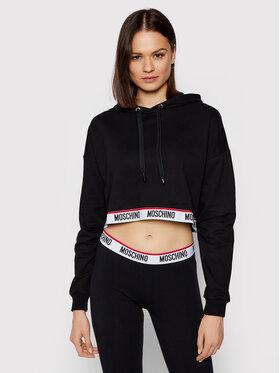 MOSCHINO Underwear & Swim MOSCHINO Underwear & Swim Суитшърт 1721 9020 Черен Regular Fit