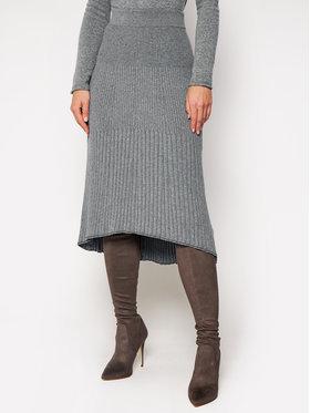 Calvin Klein Calvin Klein Fustă midi Knitted K20K202328 Gri Regular Fit