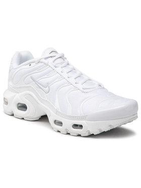 Nike Nike Обувки Air Max Plus (GS) CW7044 100 Бял
