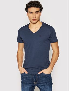 Tommy Jeans Tommy Jeans T-Shirt DM0DM04410 Dunkelblau Regular Fit