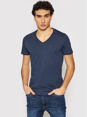 Tommy Jeans Tommy Jeans T-Shirt DM0DM04410 Tmavomodrá Regular Fit