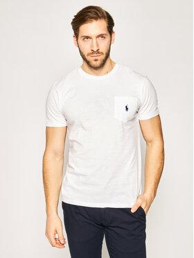 Polo Ralph Lauren Polo Ralph Lauren T-Shirt Classics 710795137 Bílá Regular Fit
