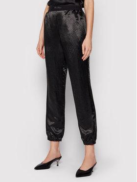 Max Mara Leisure Max Mara Leisure Текстилни панталони Balzac 31360216 Черен Regular Fit