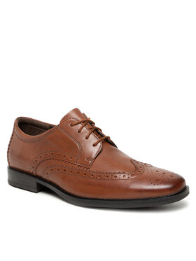 Clarks Clarks Chaussures basses Howard Wing 261612547 Marron