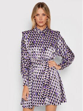 Marella Marella Рокля тип риза Andina 32261516 Виолетов Relaxed Fit