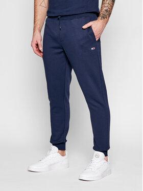 Tommy Jeans Tommy Jeans Teplákové nohavice Tjm Fleece DM0DM09954 Tmavomodrá Slim Fit