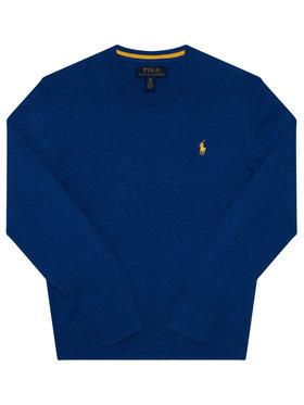 Polo Ralph Lauren Polo Ralph Lauren Pulover Ls Cn 323799887001 Albastru Regular Fit