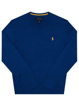 Polo Ralph Lauren Polo Ralph Lauren Пуловер Ls Cn 323799887001 Син Regular Fit