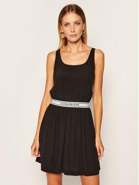 Calvin Klein Jeans Calvin Klein Jeans Každodenní šaty J20J214162 Černá Regular Fit